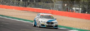 On track at Silverstone, BRITCAR Silverstone Trophy, April 2021